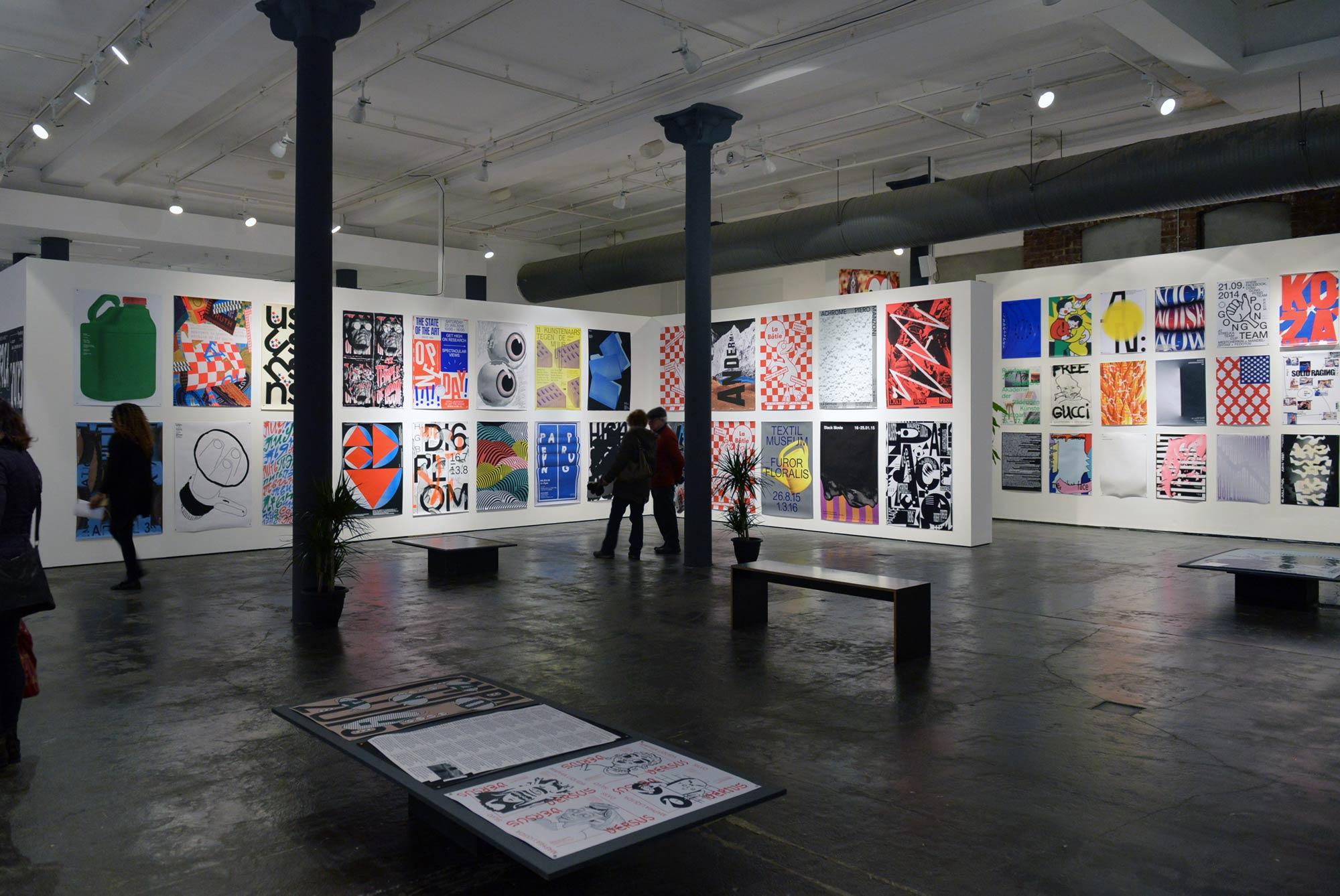 Exhibition Stand Poster Design : International poster exhibition graphic design