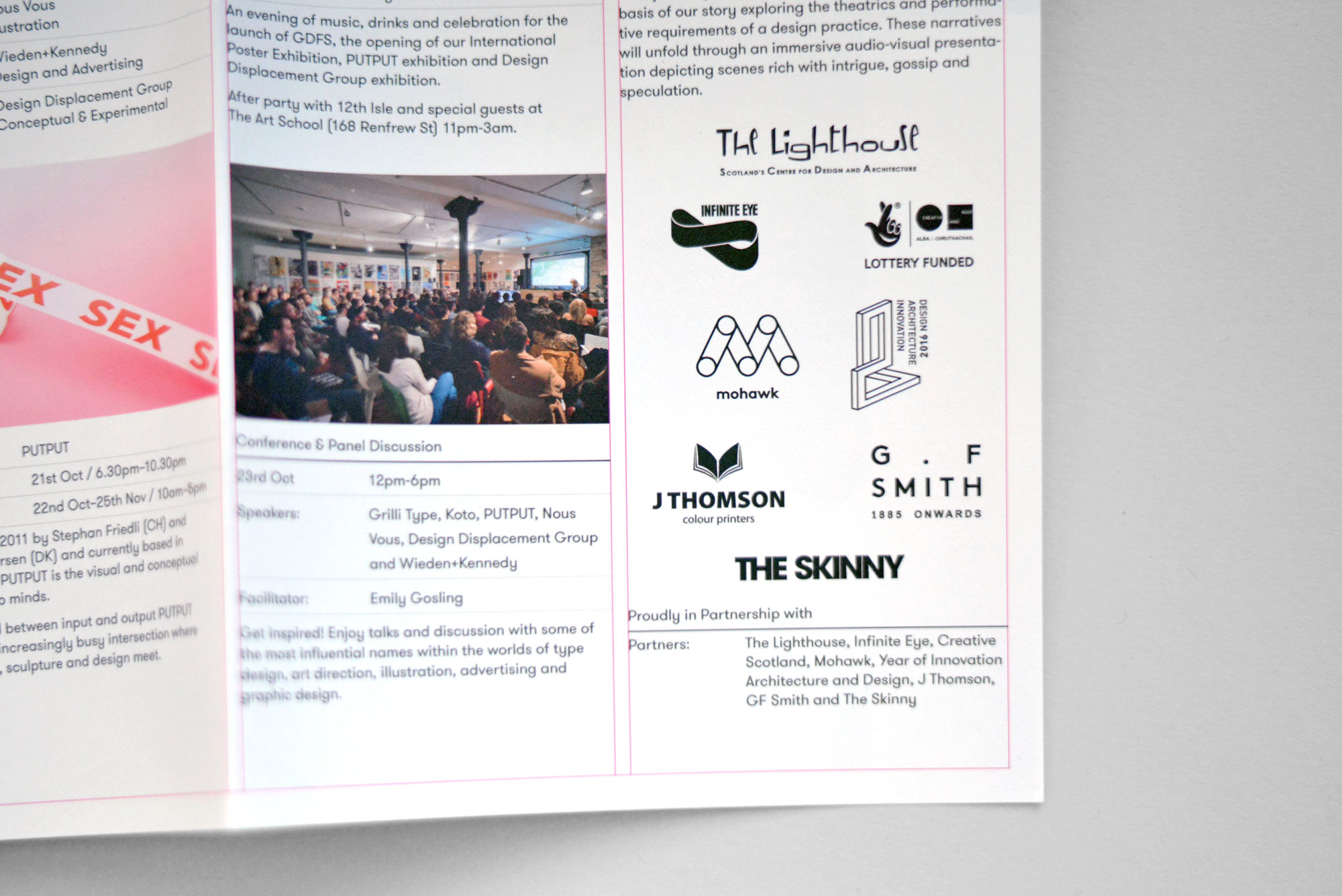 Poster design article - For Shorts Film Festival Posters And Postcards Were Printed To Promote The Event Along With Programmes Detailing The Talented Film Makers And Films Being